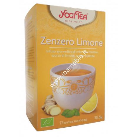 Yogi Tea - Zenzero e Limone - Infuso Ayurvedico Rinvigorente, vitale, ispirante