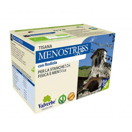 Menostress 20 filtri - Valverbe Tisana biologica - Stanchezza fisica e mentale