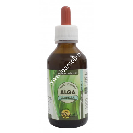 Clorella Tintura Officinale 100ml - Ricca di Clorofilla - Chelante Naturale