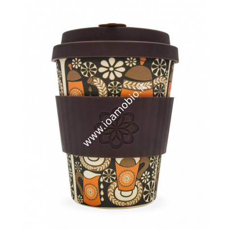 Ecoffee Cup Ecotazza in Bambù 340 ml - Morning Coffee