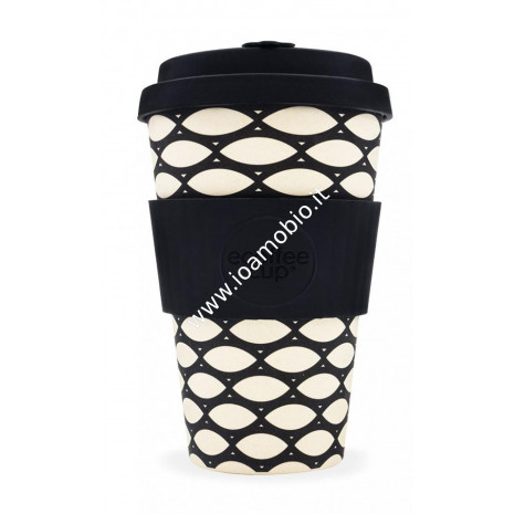 Ecoffee Cup Ecotazza in Bambù 400 ml - Basketcase