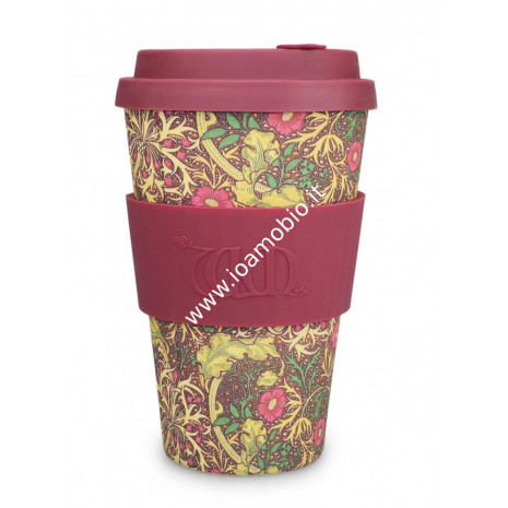 Ecoffee Cup Ecotazza in Bambù 400 ml - Seaweed
