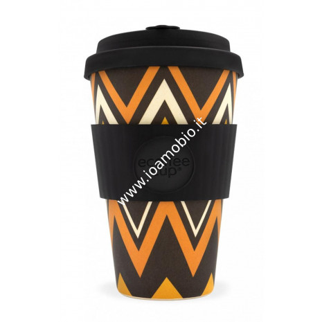 Ecoffee Cup Ecotazza in Bambù 400 ml - Zignzag