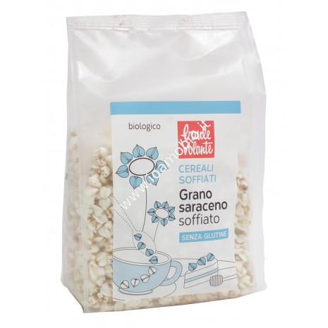 Grano Saraceno Soffiato 60g - Cereali Bio Baule Volante - Ricchi di Fibre