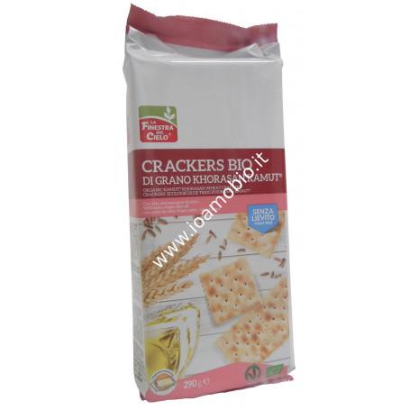 Crackers di Kamut senza Lievito 290g - con Olio Extravergine di Oliva