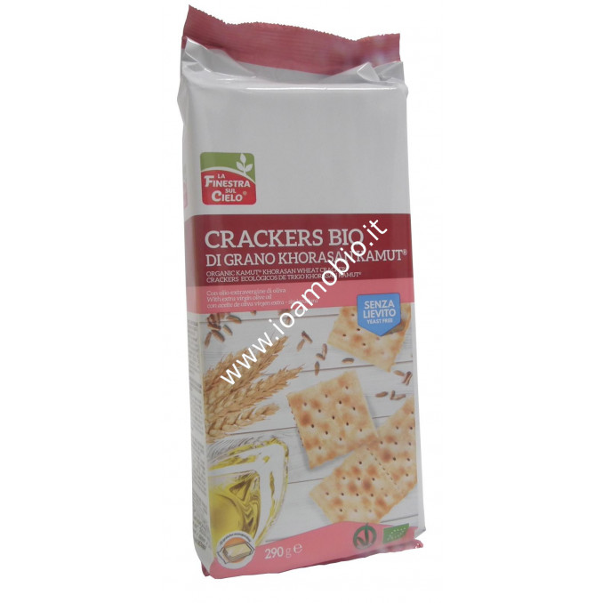 Crackers di kamut® senza lievito 290g