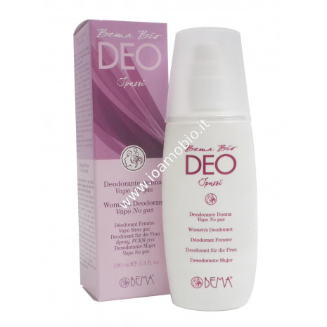 Deodorante Donna Vapo No-Gas 100ml - Bio Bema