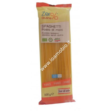 Spaghetti di Mais Senza Glutine 500g - Pasta Biologica Zero%Glutine
