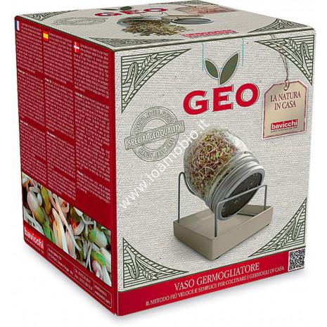 Germogliatore in Vetro Geo Jar - Barattolo per Germogli
