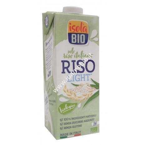 Bevanda di Riso Light 1lt - Latte Vegetale Biologico Isola Bio