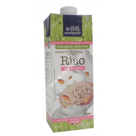 Bevanda di Riso alla Mandorla Sottolestelle 1l - Latte vegetale senza zucchero