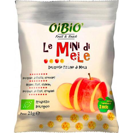 Mini di Mele Bio 21g - Palline Snack Croccanti di Frutta