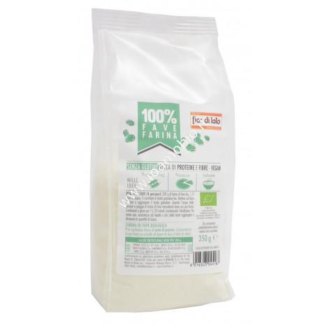 Farina di Fave Biologica 350 - Senza Glutine Fior di Loto