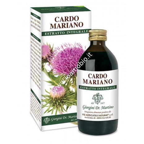 Cardo Mariano Estratto Integrale 200ml - Liquido analcolico Dr.Giorgini