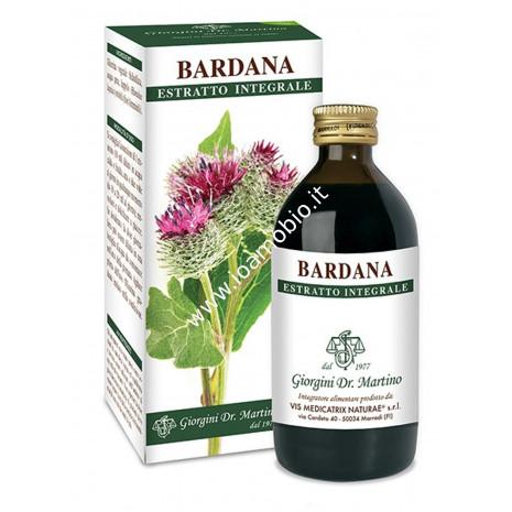 Bardana Estratto Integrale 200ml - Liquido analcolico Dr.Giorgini