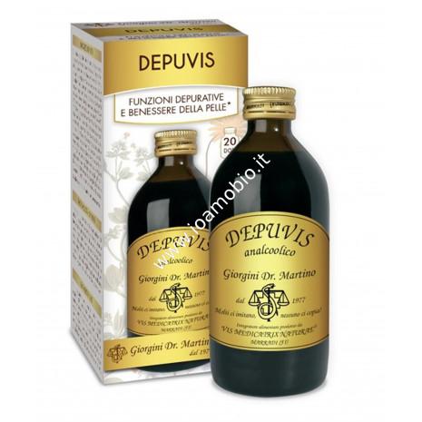 Depuvis Liquido Alcoolico 200ml - Depurativo Dr.Giorgini