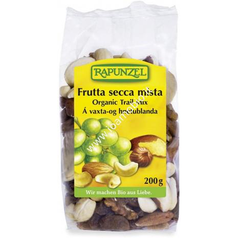 Frutta Secca Mista Rapunzel 200g - Mix Anacardi, Nocciole, Mandorle, Uvetta
