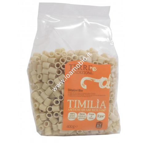Ditalini di Timilia 400g - Pasta Biologica di Grani Antichi Terre e Tradizioni