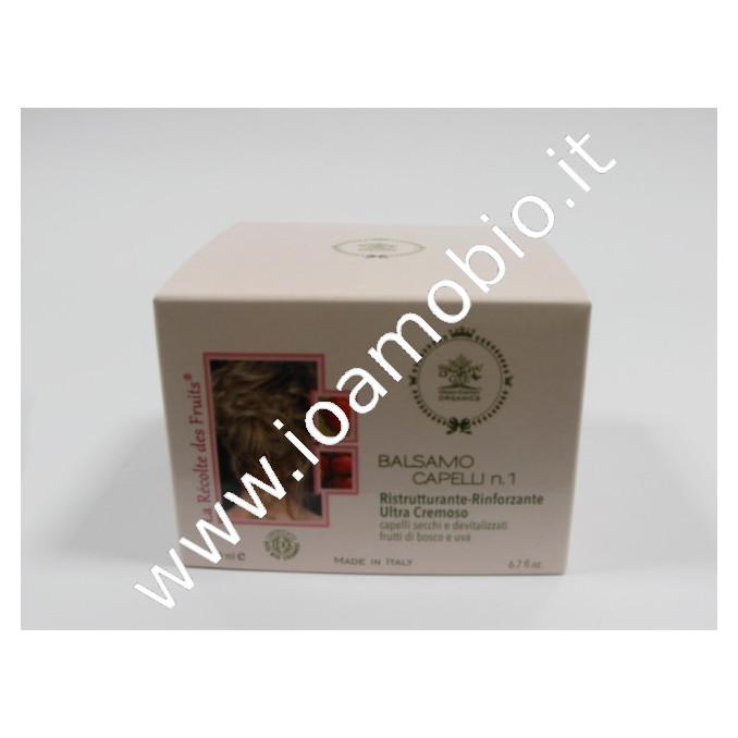 Balsamo n.1 Ristruttur.capelli secchi e sottili - Frutti