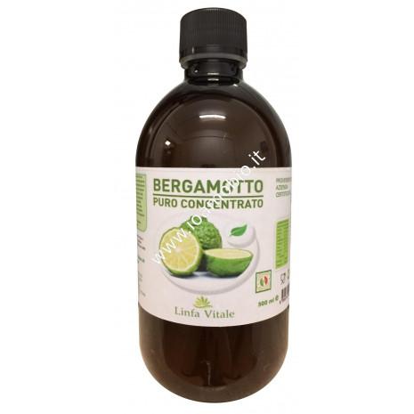Linfa Vitale Succo Concentrato Puro di Bergamotto 500ml -