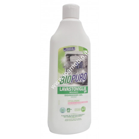 Detersivo Gel per lavastoviglie 500ml