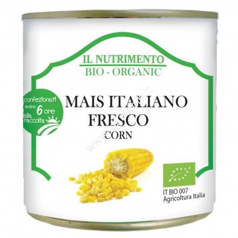 Mais Italiano Fresco Biologico 340g - Confezionato entro 6 ore dalla raccolta
