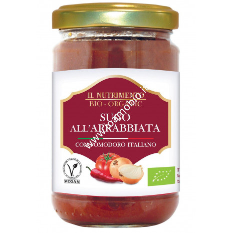 Sugo all'Arrabbiata - Biologico e Senza Glutine 280g