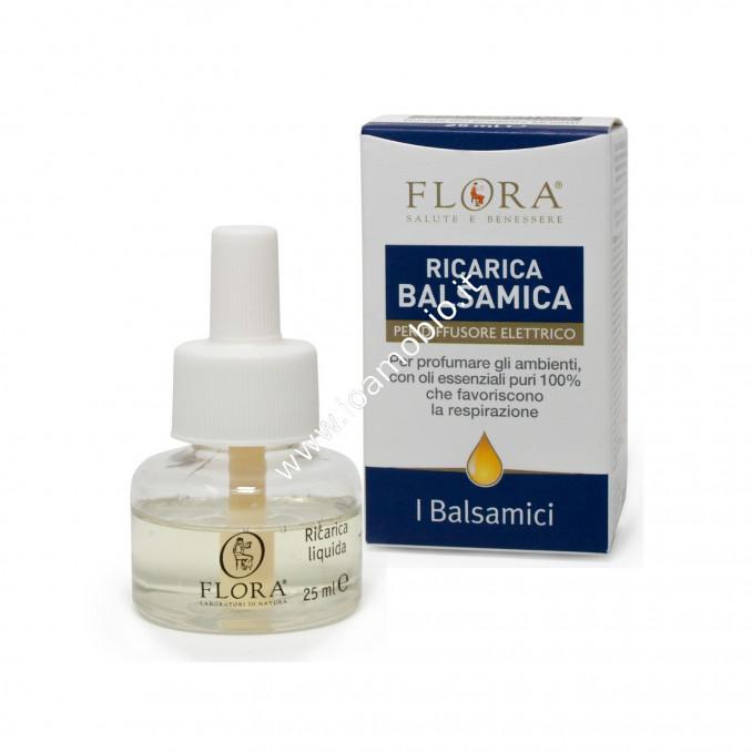 Refill Ricarica Balsamica 25ml Per Diffusore Elettrico Flora