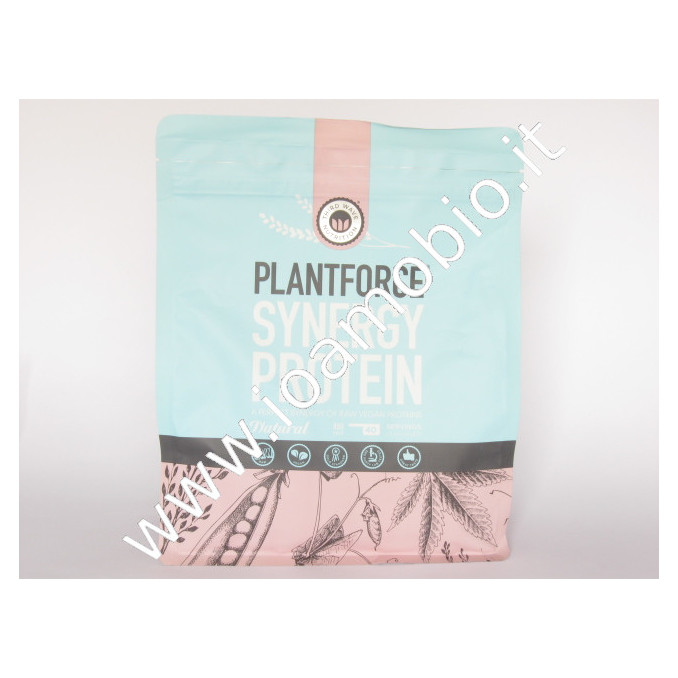 Plantforce Synergy Proteine Natural 800g riso canapa pisello