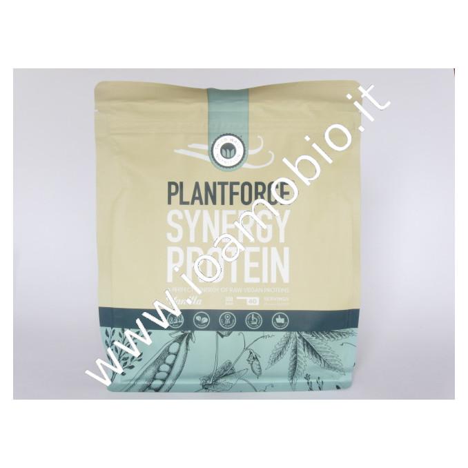 Plantforce Synergy Proteine Vaniglia 800g riso canapa pisello