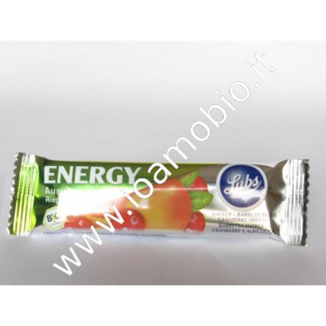 Barretta energy cranberry e albicocca 40g