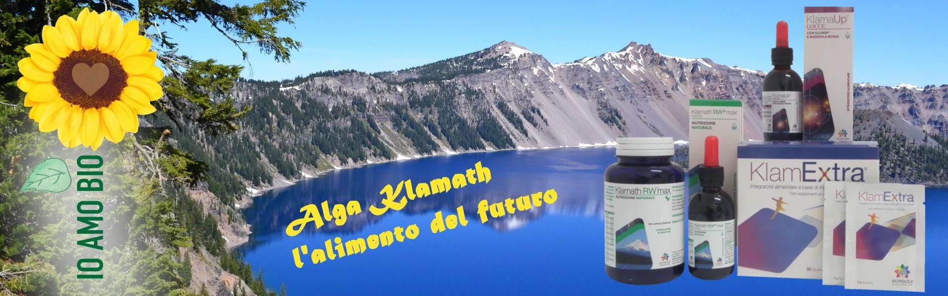 Alga Klamath - L'alimento del futuro